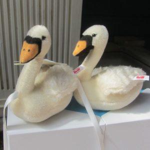 Pair of Wedding Swans