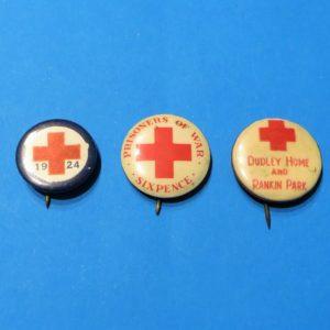 Australian Red Cross Badge Trio – Newcastle