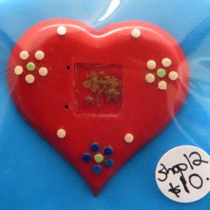 German Charity Heart Badge