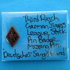 German Singers League Membership Pin