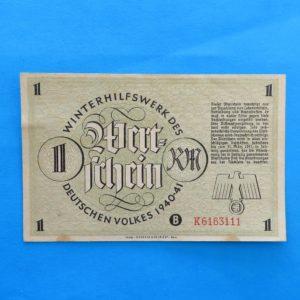 WWII German Donation Certificate