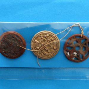 German Charity Relief Trio – Heraldic Runes