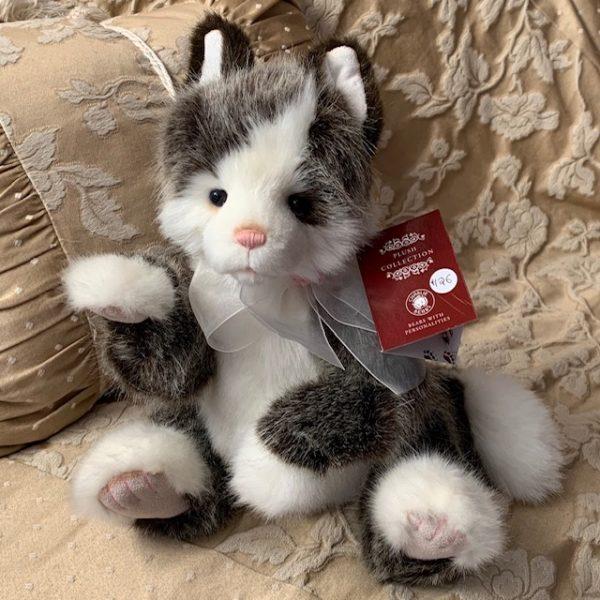 Morpeth Teddy Bears Charlie Hunter Valley plush Rodders cat