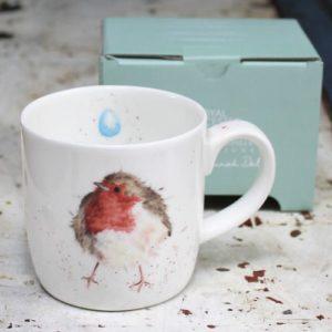 Wrendale Mug – Garden Friend (Robin)