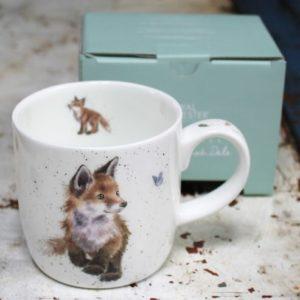 Wrendale Mug – Born to be Wild (Fox Cub)