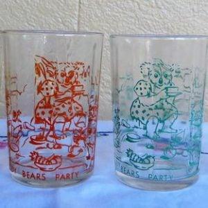 Teddy Tea Party Glass Set