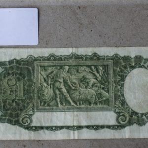 Australian One Pound Note 1942
