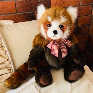 TRUCKLE, BEARHOUSE RED PANDA mORPETH tEDDY bEARS cHARLIE
