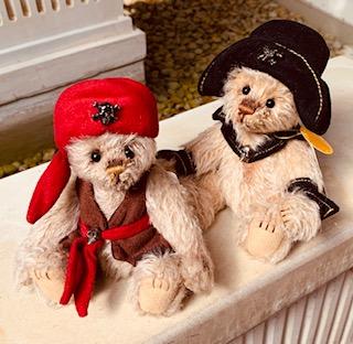 Morpeth teddy bears hunter valley charlie Minimo mohair Barnacle Dubloon