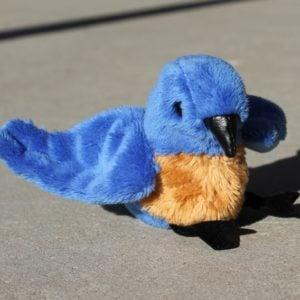 Finger Puppet – Blue Bird
