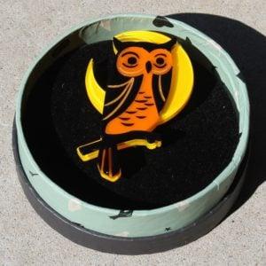 Erstwilder Brooch – The Night's Watch (Owl)
