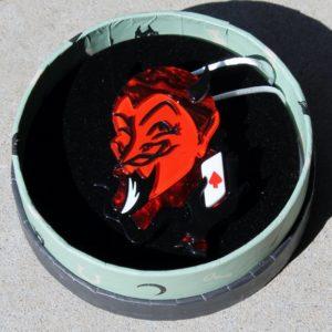 Erstwilder Brooch – Deal with the Devil