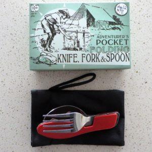 morpeth gift gallery hunter valley outdoor adventure camping emergency handy pocket tools boy scout girl guides hiking bushwalking pocket folding knife fork spoon