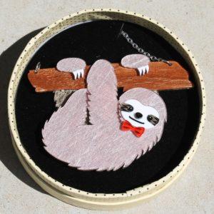 Erstwilder Necklace – Cyril the Sloth