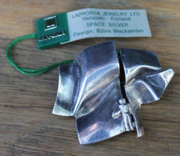 morpeth antique centre hunter valley finnish finland silver mid century space modern brooch lapponia bjorn weckstrom