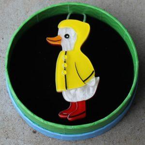 Erstwilder Brooch – Duck, Duck, Splash!