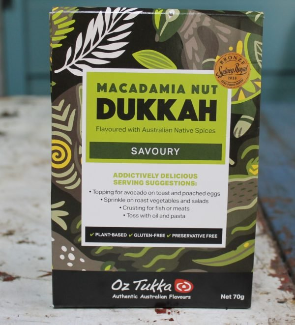 morpeth gift gallery gourmet foods oz tukka savoury dukkah macadamia nut food