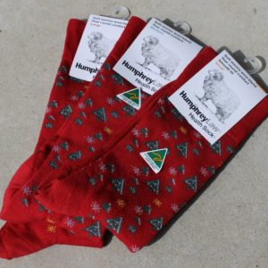 Christmas Socks – Red Large