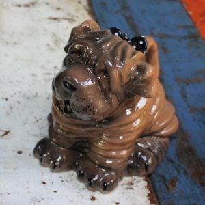 Shar Pei Dog Teapot