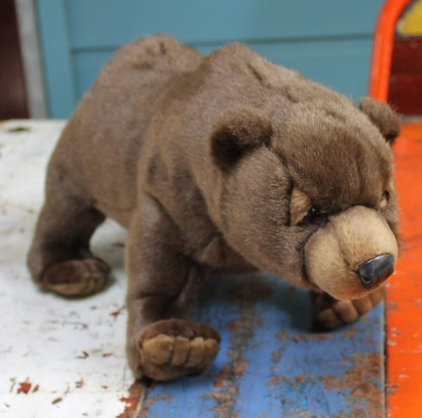 morpeth gift gallery hunter valley hansa plush creations bird animal insect grizzly brown bear