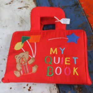 Cloth Book – Quiet Red