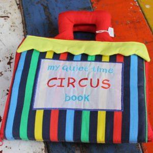 Cloth Book – Quiet Time Circus