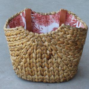 Harvest Market Basket – Pink Lining