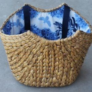 Harvest Market Basket – Blue Lining