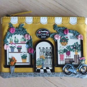 Vendula Flower Shop Zipper Key Coin Purse