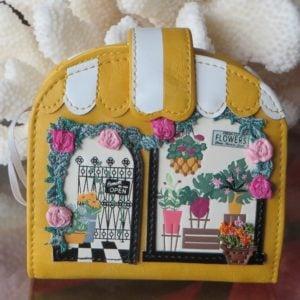 Vendula Flower Shop Clipper Coin & Card Wallet