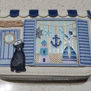 Vendula Seaside Souveniers Zip Around Wallet Small