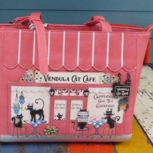 Vendula Cat Cafe Shopper