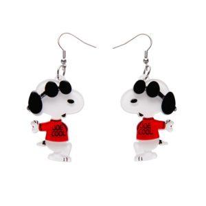 Erstwilder Earrings – Joe Cool Snoopy