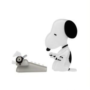 Erstwilder Double Brooch Set – World Famous Author (Snoopy)