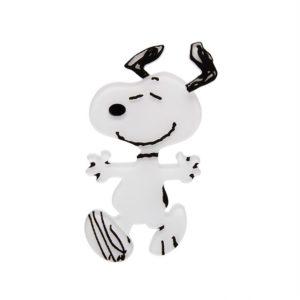 Erstwilder Brooch – Time to Dance (Snoopy)