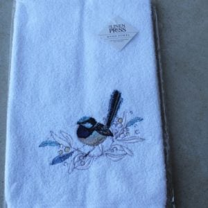 Hand Towel – Blue Wren