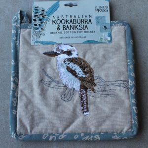 Pot Holder – Kookaburra & Banksia