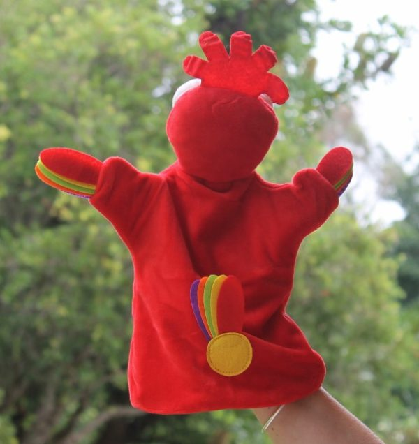 morpeth gift gallery hunter valley chris collin funky chicken puppet toy comforter book children's character