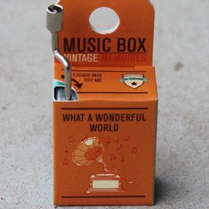 Music Box – What a Wonderful World