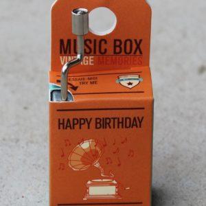 Music Box  – Happy Birthday
