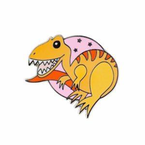 Erstwilder Enamel Pin – Rex the Tyrant King