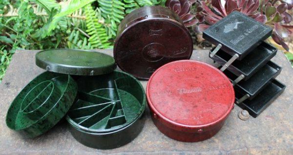 morpeth antique centre hunter valley bakelite fishing tackle boxes steelite alvey