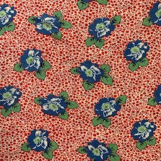 Morpeth Antique Centre Feed Sack Fabric