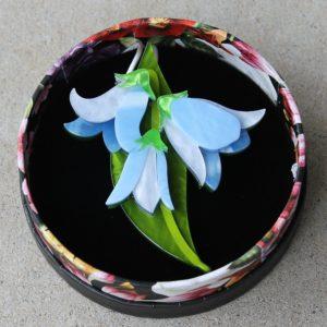Erstwilder Brooch – Favourite Flower (Bluebells)