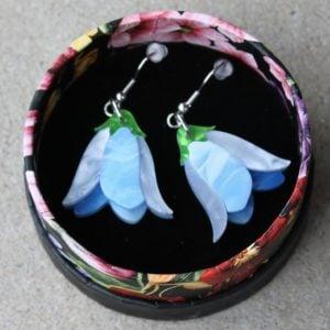 Erstwilder Earrings – Favourite Flower (Bluebells)