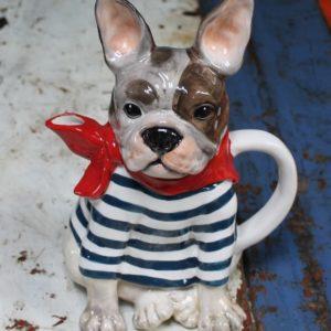 French Bulldog Teapot
