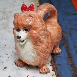 Pomeranian Dog Teapot