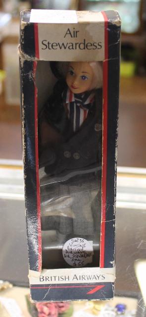 morpeth antique centre hunter valley british airways stewardess doll flight attendant