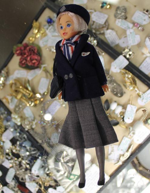 morpeth antique centre hunter valley british airways doll stewardess