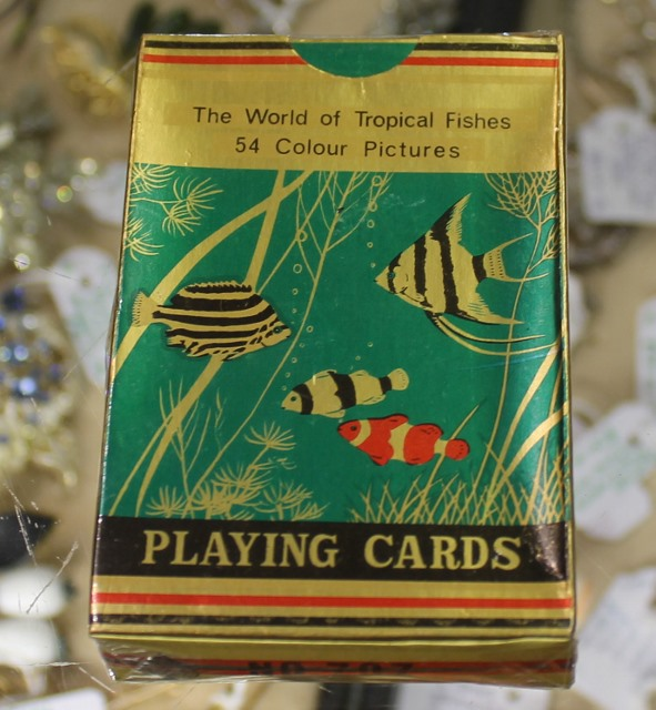 morpeth antique centre hunter valley the world of tropical fish playing cards pack deck